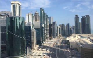 Doha eine moderne Stadt