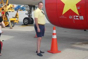 Flug nach Saigon