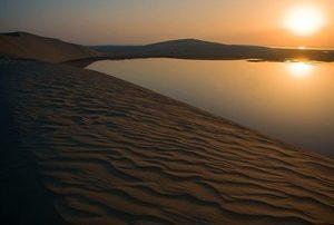 Chaur al Udaid - Lagune in der Wüste