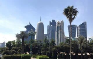 Glitzende Metropole Doha