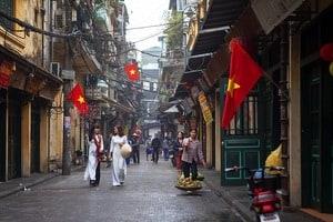 Strasse in Hanoi