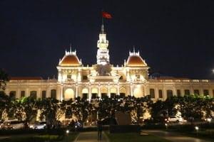 Das alte Rathaus von Saigon