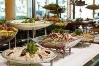 Köstliches essen im Hilton Doha
