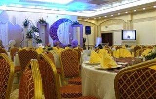 Der Speisesdaal des Ezdan Hotel in Doha