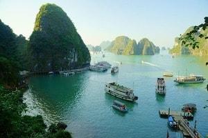 Halong Bay, beeindruckend schön