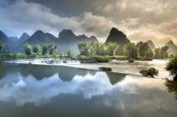 Traumlandschaft in Vietnam