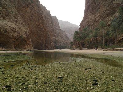 Ein Wadi im Oman