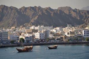 Muscat, der Hafen