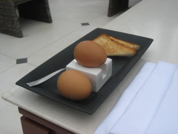 So werden Eier serviert