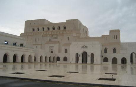 Das Opernhaus in Muscat