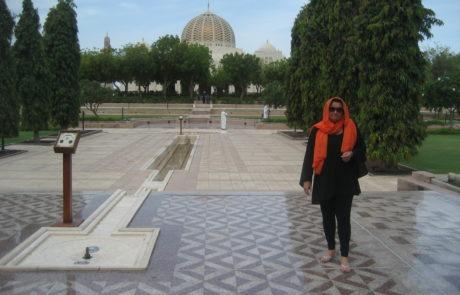 Die Sultan Qaboos Moschee in Muscat