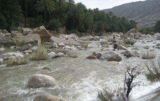 Wasser in den Bergen