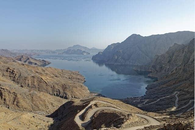 der Fjord Khor Najd