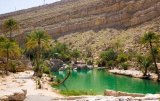 Teich im Wadi Bani Khalid