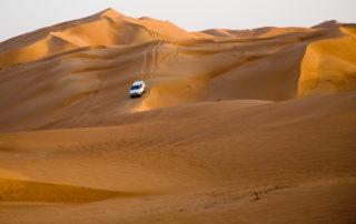 Wahiba Sands Off-Road-Fahren