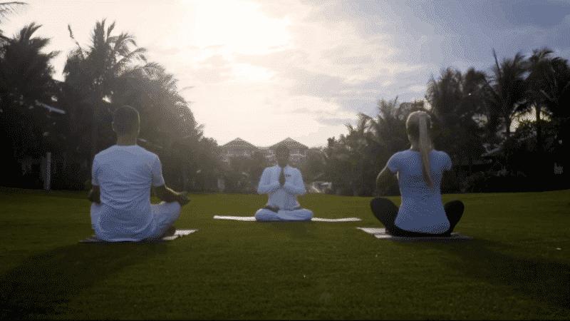 Yoga mit eigenem Lehrer