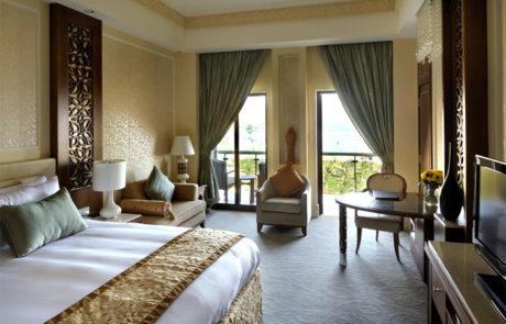 Zimmer mit Bergblick