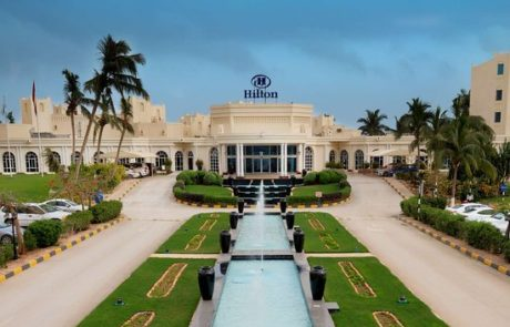 Das Hilton in Salalah