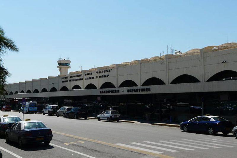 Der Flughafen Diagoros